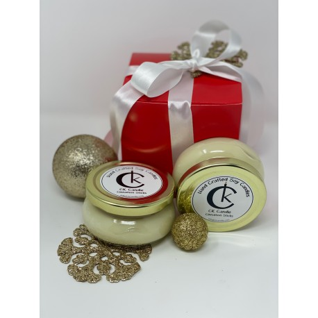 Gift Box includes 2 candles